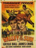Affiche de La Vallée du soleil