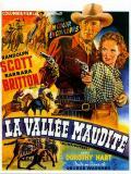 Affiche de La Vallée maudite