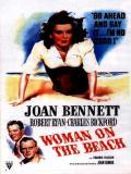 Affiche de La femme sur la plage