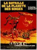 Affiche de La Bataille de la planète des singes