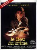 Affiche de Le Lieu du crime