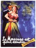 Affiche de Le mariage est pour demain