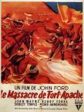 Affiche de Le massacre de Fort Apache