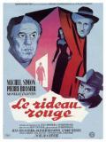 Affiche de Le Rideau rouge