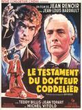 Affiche de Le Testament du docteur Cordelier
