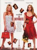 Affiche de Le divorce