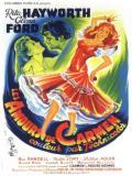 Affiche de Les Amours de Carmen