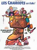 Affiche de Les Charlots en folie : à nous quatre cardinal !