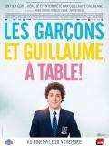 Affiche de Les Garçons et Guillaume, à table !