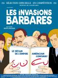 Affiche de Les Invasions barbares