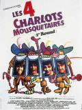 Affiche de Les Quatre Charlots mousquetaires