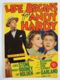 Affiche de Life Begins for Andy Hardy