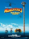Affiche de Madagascar 3 Bons Baisers D