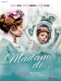 Affiche de Madame de...