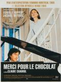 Affiche de Merci pour le chocolat