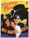 Affiche de Miss Manton est folle