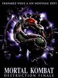 Affiche de Mortal Kombat, destruction finale