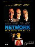 Affiche de Network, main basse sur la télévision