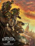 Affiche de Ninja Turtles 2