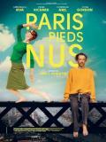 Affiche de Paris pieds nus