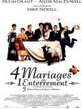 Affiche de Quatre mariages et un enterrement