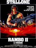 Affiche de Rambo II : la mission
