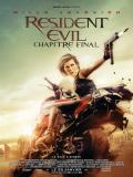Affiche de Resident Evil : Chapitre Final