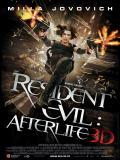 Affiche de Resident Evil : Afterlife 3D