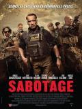 Affiche de Sabotage