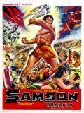 Affiche de Samson et Dalila
