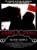 Affiche de Sang pour sang