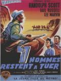 Affiche de Sept hommes à abattre