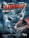 Affiche de Sharknado 3: Oh Hell No!