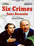Affiche de Six crimes sans assassins