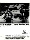Affiche de Stranger Than Paradise