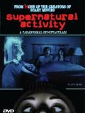 Affiche de Supernatural Activity