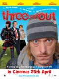 Affiche de Three and Out