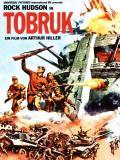 Affiche de Tobrouk, commando pour l