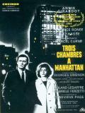 Affiche de Trois chambres à Manhattan