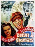 Affiche de Débuts à Broadway