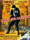 Affiche de Police sur la ville