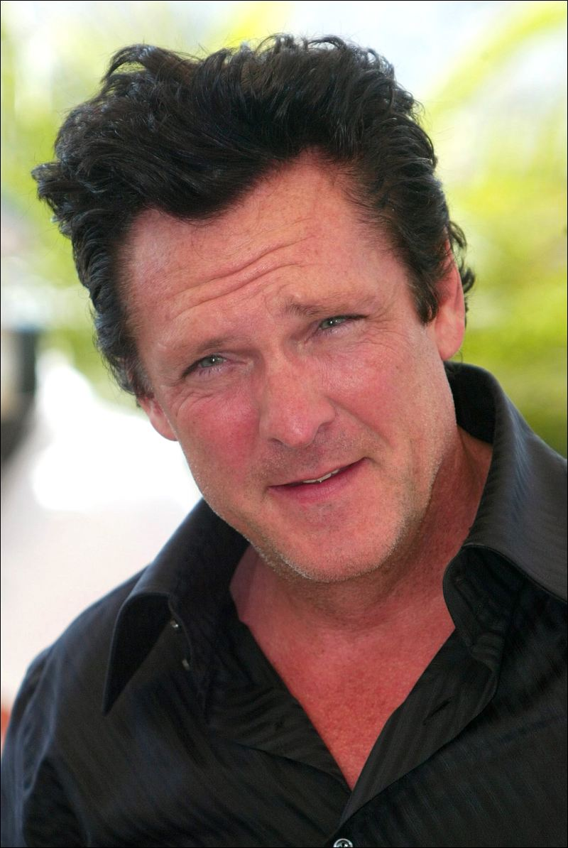 Michael Madsen couple
